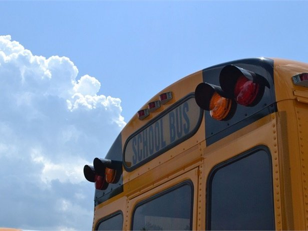 New technology can play a role in ehancing safety, and several items on display at the NAPT trade show were created to help prevent fatal school bus crashes. File photo