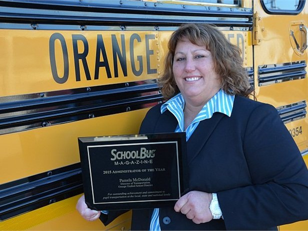 Pam McDonald, director of transportation at Orange (Calif.) USD, was recently named School Bus Fleet's 2015 Administrator of the Year.