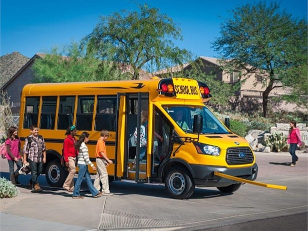 Micro Bird has helped to transform the industry by introducing many small bus innovations that offer increased safety and durability compared to van bodies. Shown here is its newest bus, the T-Series.