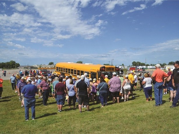 One of SBF's standout photo galleries of 2019 showed the emergency planning demonstrations at the Iowa Pupil Transportation Association's annual conference. Photo courtesy April Darling