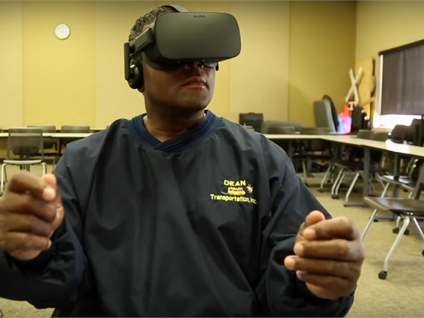 "Dean Transportation's video on the use of virtual reality technology to supplement training and provide more of a ""real-world"" experience was one of the standout videos posted on SBF's website in 2017."