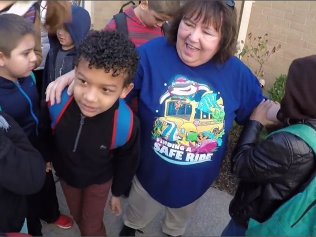 A video about the career of special-needs school bus driver Karen Sweet was one of the standout videos posted on SBF's website in 2018.