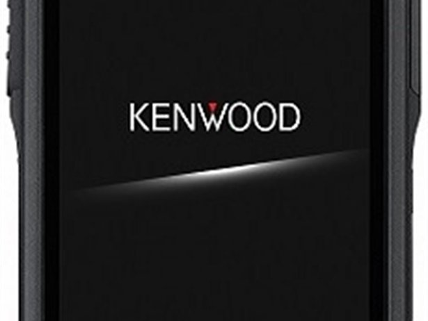 The Kenwood branded KWSA80K smartphone device is designed for heavy-duty industrial use.