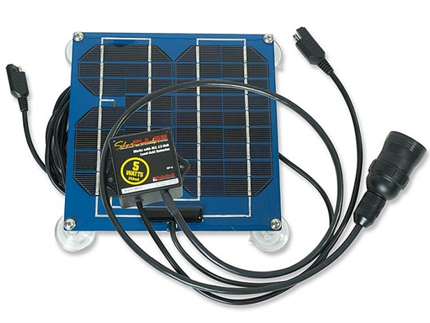 The new SP-5 OTR Solar Charger Maintainer from PulseTech Products Corp. is designed to eliminate jump starts and extend battery life.