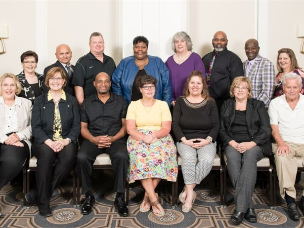 The honorees in STA's 2018 Safety Wall of Fame were recognized during a recent ceremony.