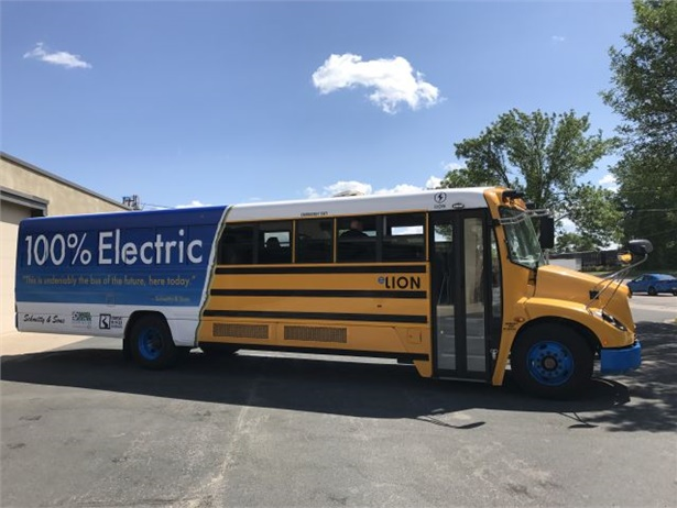 Transportation provider Schmitty & Sons is collaborating with two electricity providers to deploy an eLion all-electric school bus this fall.