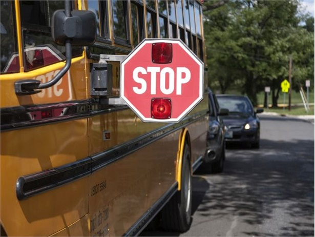 Legislation in New York would require the state's pre-licensing course and test for driver applicants to cover the law on stopping for school buses. Photo courtesy NHTSA