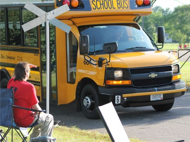 NSTA will host the 2016 School Bus Driver International Safety Competition at Thomas Built Buses' headquarters. Seen here is last year's competition. Photo courtesy NSTA