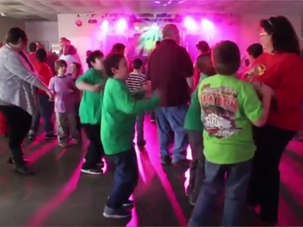 More than 400 Wilson County Schoolsspecial-needs students attended a Valentine's dance put on by the disctrict's bus drivers.