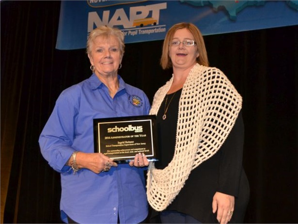 Last year's SBF Administrator of the Year award went to Ingrid Reitano (left) of New Jersey. She is seen here with her daughter, Tracy Lynch.