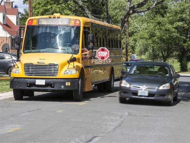 From the 2016-17 school year through 2017-18, Montgomery County issued 50,993 stop-arm camera tickets to motorists who illegally passed stopped school buses. File photo courtesy NHTSA