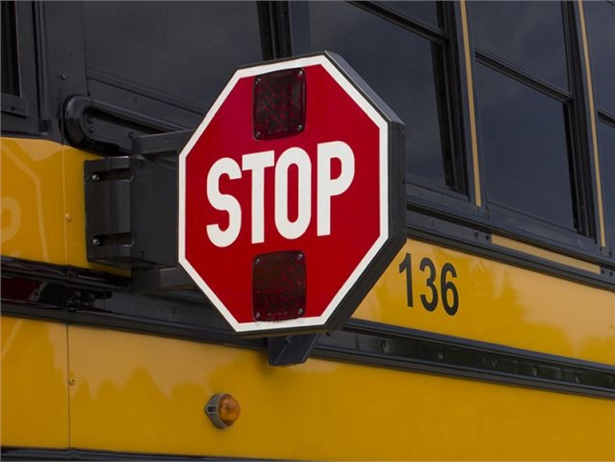 WNCN ran a story reminding motorists about North Carolina's law on stopping for school buses. Stock photo courtesy REI