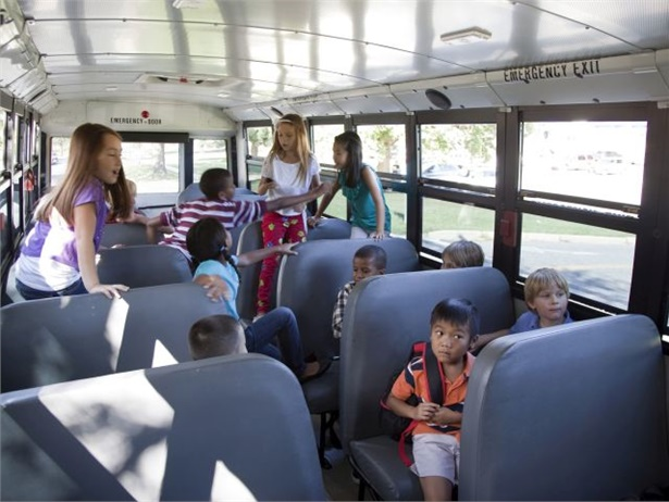 Two recent incidents involved student misbehavior and school bus windows. File photo courtesy NHTSA