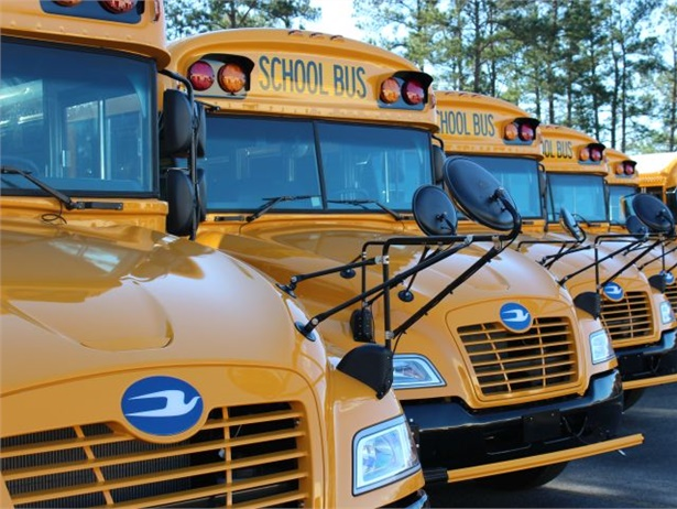 South Carolina acquired 26 Blue Bird propane school buses as part of its efforts to update its aging fleet.