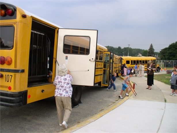 AMF-Bruns' new annual award will honor a special-needs school bus driver for exemplary service. File photo by Bob Markwardt