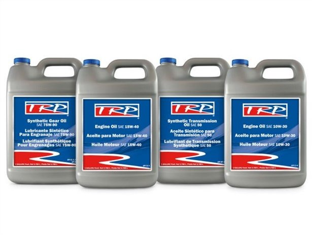 TRP Engine Oil, TRP Synthetic Transmission Oil, and TRP Synthetic Gear Oil are the newest additions to the supplier's global catalog.