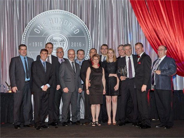 Autobus Thomas Inc. of Quebec was named Thomas Built Buses' 2015 Dealer of the Year.