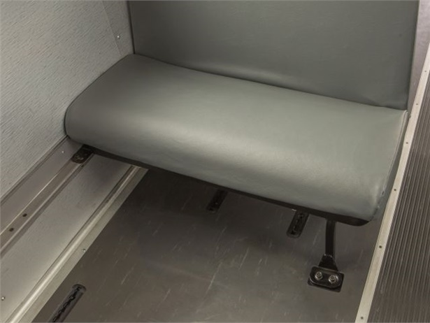 Thomas Built Buses' S.T.A.R.S. mounting system allows passenger seats to be easily removed and reinstalled quickly, according to the OEM.
