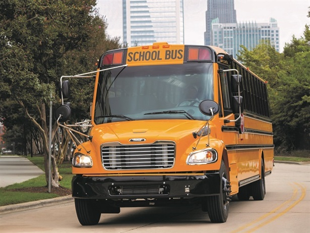 Truck Center Companies is now the official Thomas Built Buses dealerfor the state of Iowa. Shown here is the school bus manufacturer's Saf-T-Liner C2. File photo courtesy Thomas Built Buses