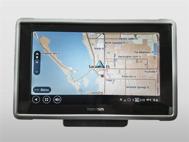 The TomTom Bridge with GPSi software is designed to help streamline routing, scheduling vehicle maintenance, and other tasks.