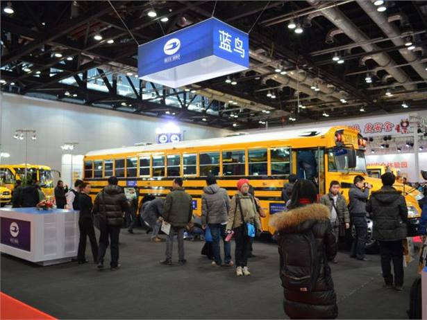 Blue Bird recently showcased its Vision school bus at the China International School Bus Development Forum and Exhibition in Beijing.