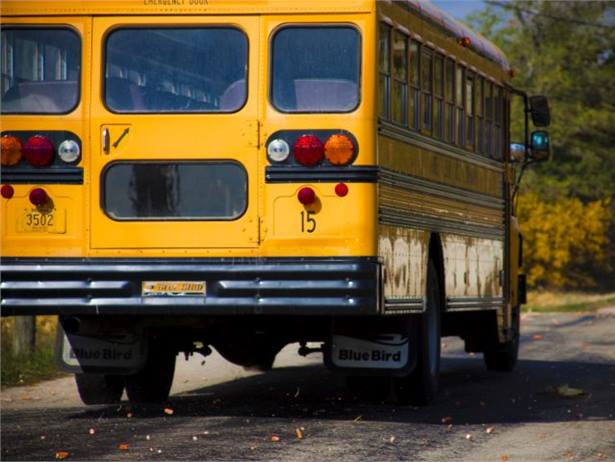 Indiana school districts are not required by the state constitution to provide transportation for students, the state's high court ruled. Photo by Kolin Toney