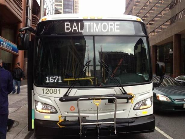 An event in Baltimore on Saturday aims to develop ways to cut down on long transit rides and taxi costs for students. Photo from Maryland MTA