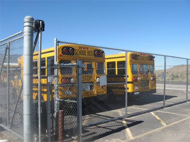 Garfield School District Re-2's bus yard is fully fenced in and monitored using Bensoftware's SecuritySpyvideo surveillance software.