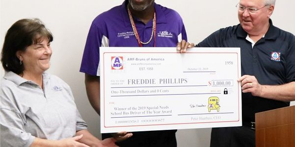 AMF-Bruns will honor a special-needs school bus driver for their standout service for the third...