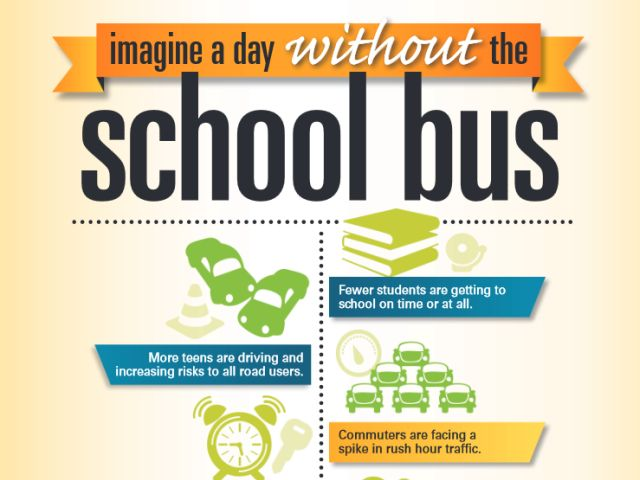 Updated Infographics Promote Benefits of School Buses