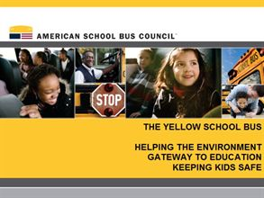 ASBC's Yellow School Bus Champions program provides 5-, 10- and 30-minute presentations that are available for download.