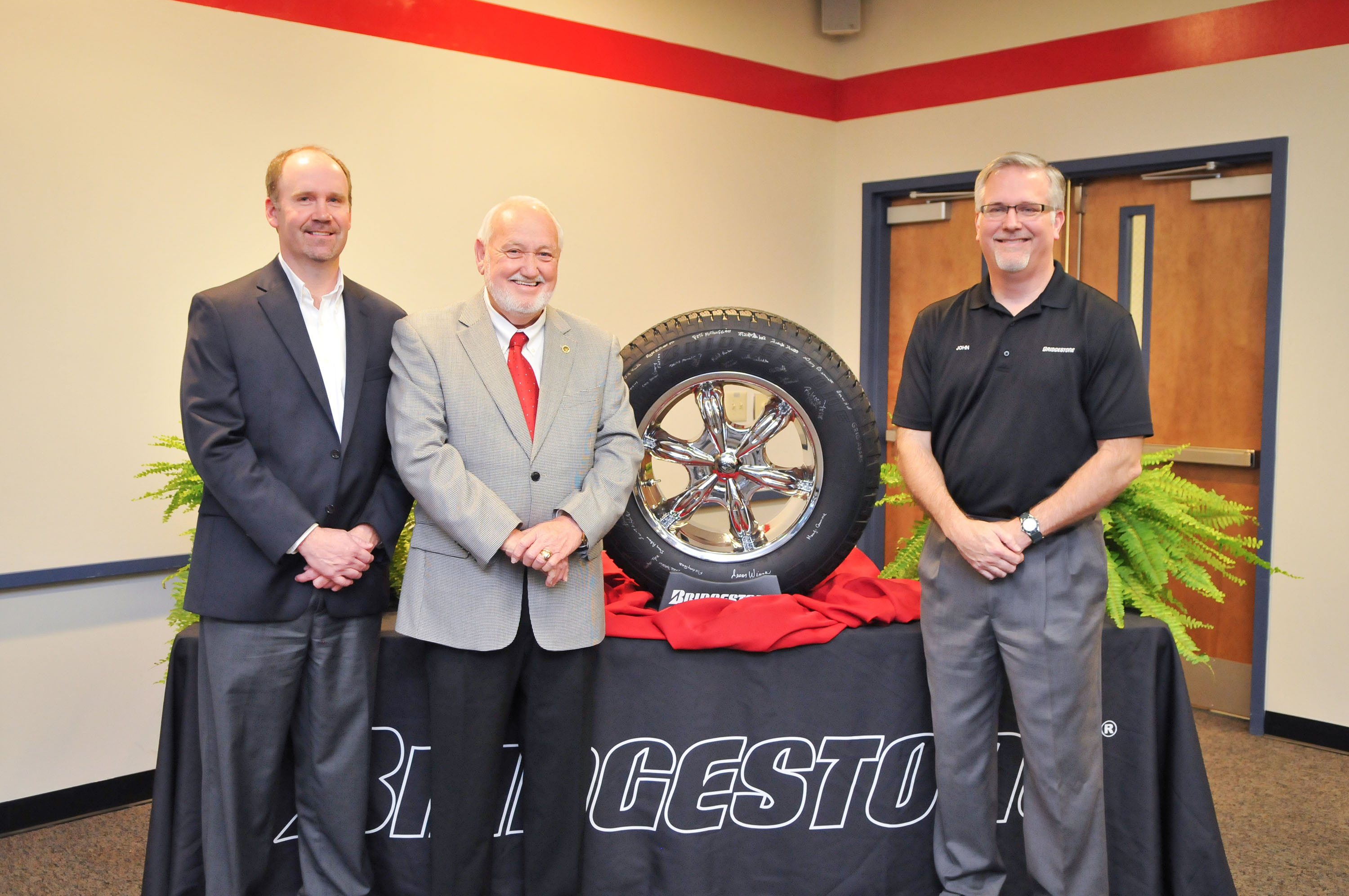 100 million tires from Bridgestone's Aiken facility