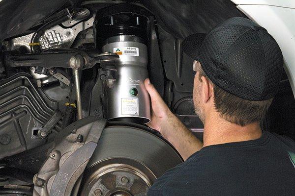Tips on Servicing Air Suspension Systems