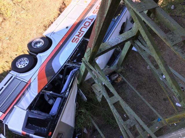 NTSB: Driver Medical Event Caused Fatal Alabama Charter Bus Crash