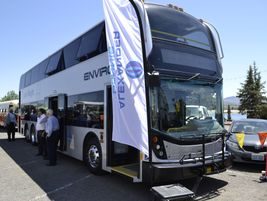 The SuperLo Enviro500 is a double-deck that can operate on the same routes as single decks in...
