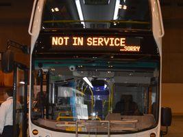 Alexander Dennis' double-decker bus.