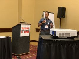 The Transit Maintenance also returned to BusCon, featuring several presentations on technology...