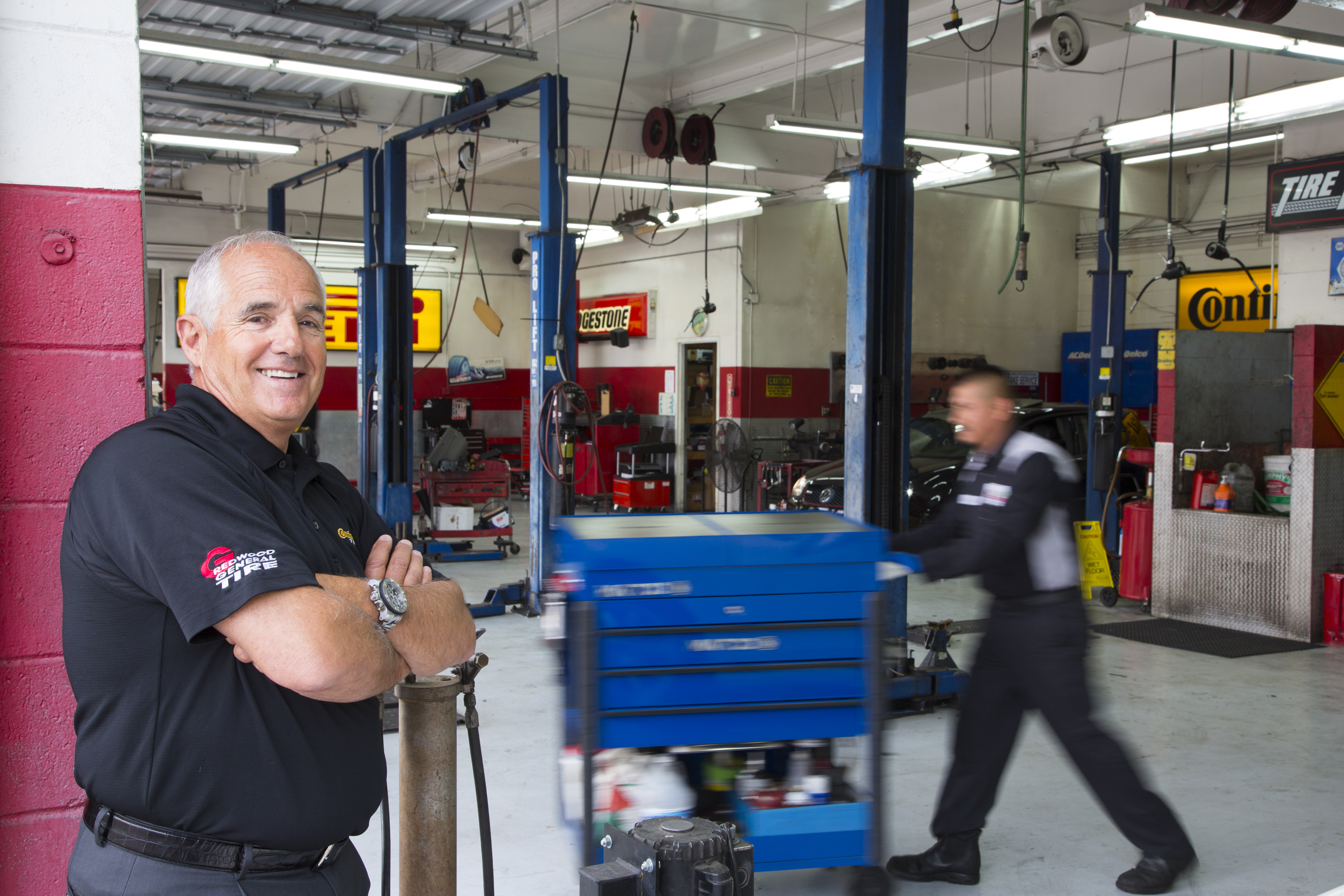 Alpio Barbara of Redwood General Tire is MTD's 2016 Tire Dealer of the Year
