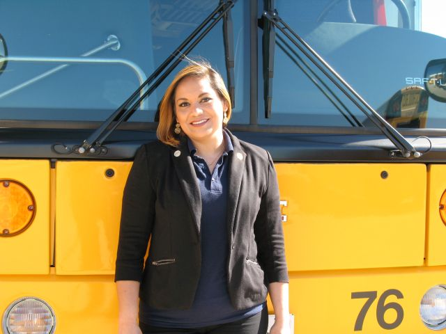 Angie Ortiz: School Bus Competitions Contribute to Student Safety