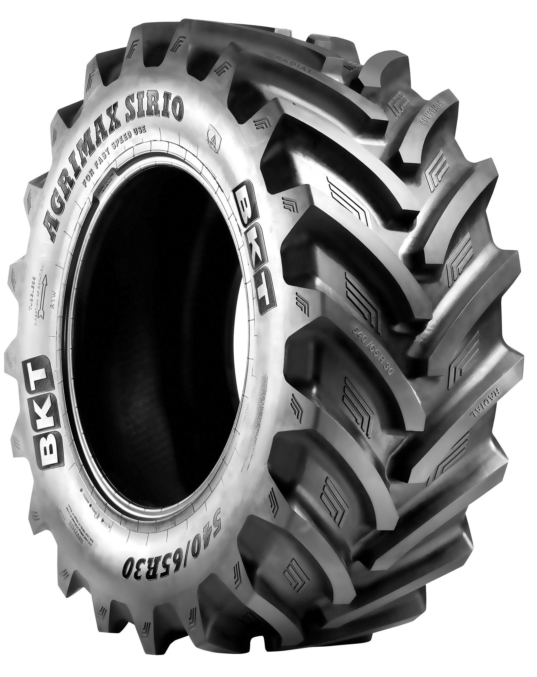 BKT Offers High Speed Tire for Tractors