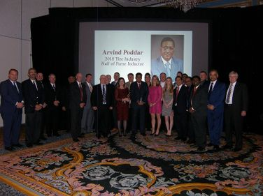 BKT employees and Poddar family members gathered to honor Arvind Poddar, chairman and managing...