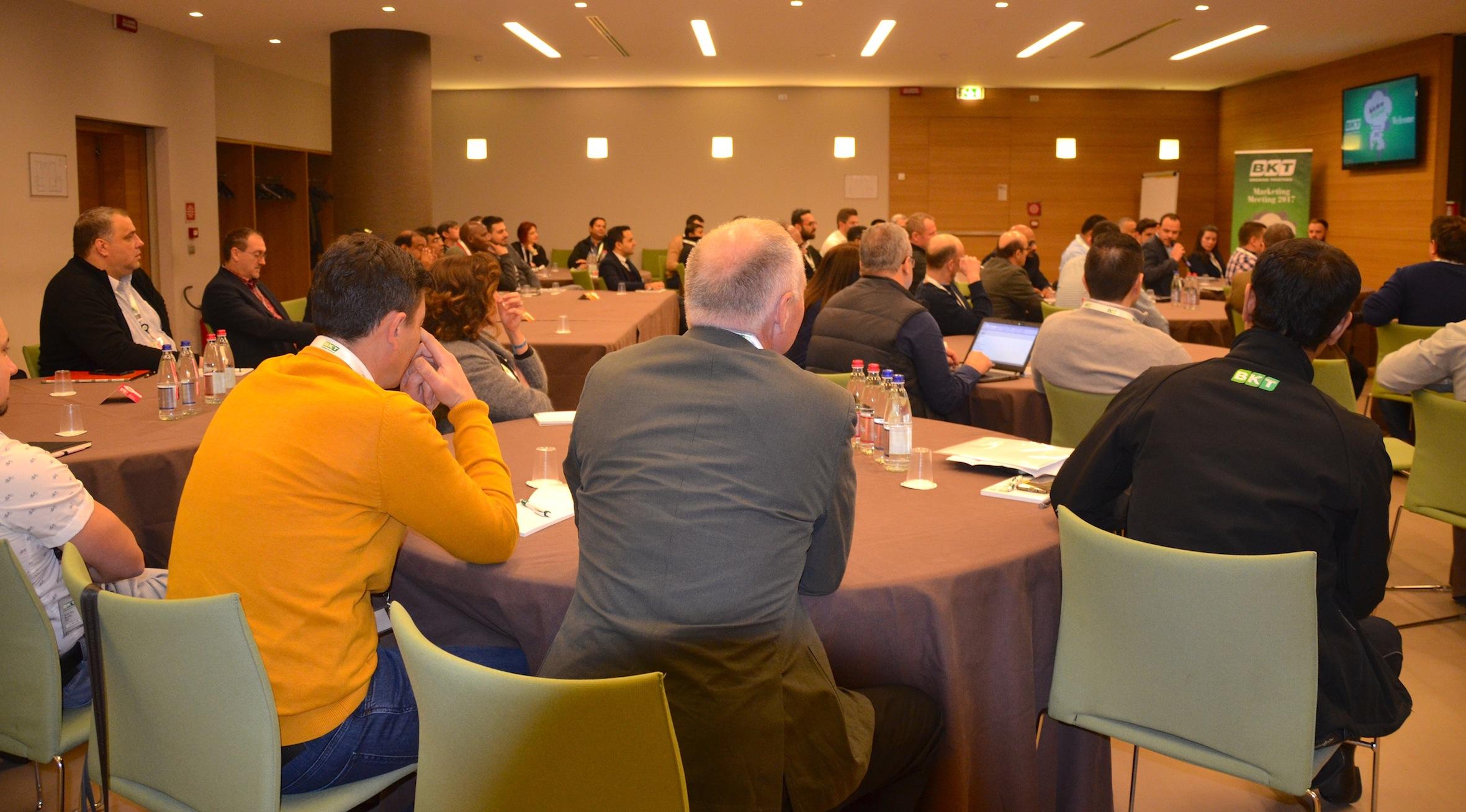 BKT Works on Worldwide Team-Building