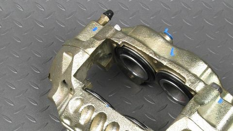 Rather than attempting to rebuild worn/failed/sticking calipers, replace with new or...