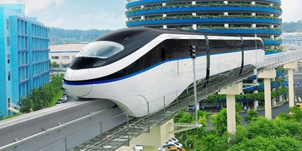 SkyRail is a straddle-type monorail system, which aims to solve traffic congestion in cities. BYD