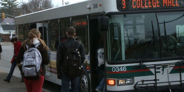 The ideal shuttle service enables a student to roll out of bed and hop on the campus shuttle...