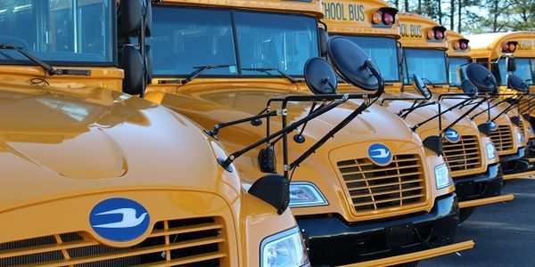 Henry County (Ga.) Schools' 23 Blue Bird Vision propane school buses are expected to emit 500...