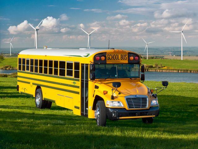 Blue Bird Launches 4th Generation Propane School Bus
