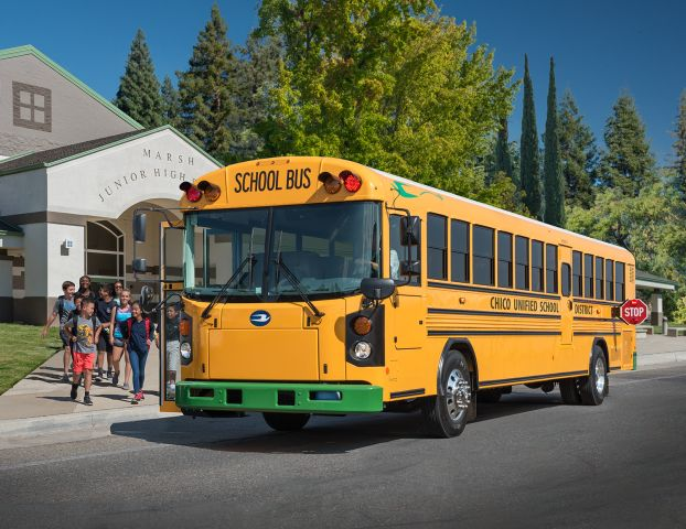 Blue Bird, Cummins Partner on Electric School Bus Support in California