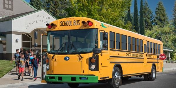 Alisal Union School District received a new Blue Bird Electric Vision bus from A-Z Bus Sales....