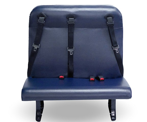 Blue Bird, HSM Unveil New Convertible Seating Solution